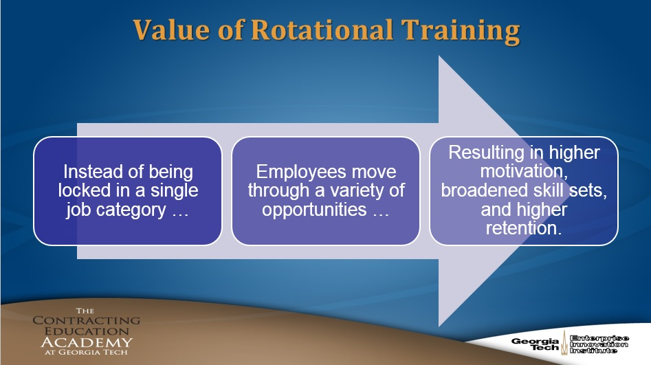 Value of Rotational Training