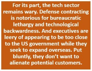 Tech Sector Remains Wary of Government Contracting 11.2015