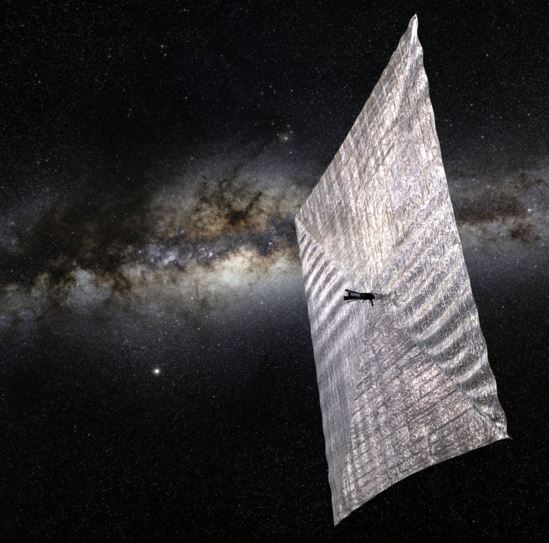 LightSail is a citizen-funded project by The Planetary Society, the world's largest non-profit space advocacy group. Computer rendering:The Planetary Society