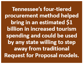 State government's use of 4-tiered RFP procurement method called a