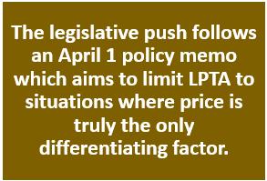 Limiting LPTA
