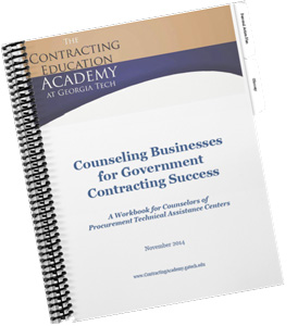 Counseling Businesses for Government Contracting Success Nov. 2015