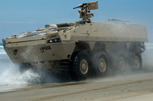 Lockheed Martin has introduced its candidate for the new Amphibious Combat Vehicle. Photo courtesy Lockheed Martin.